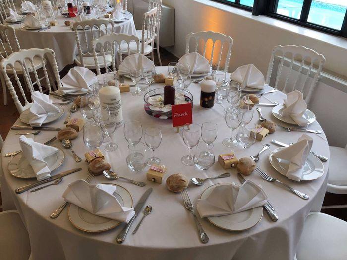 Tables rondes : combien d'invités par tables ?? 3