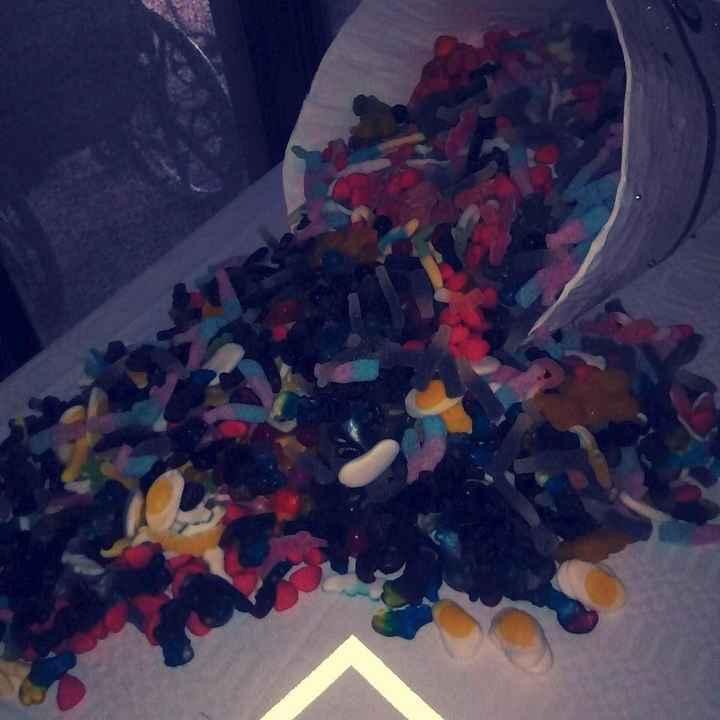 Corne d'abondance de bonbons
