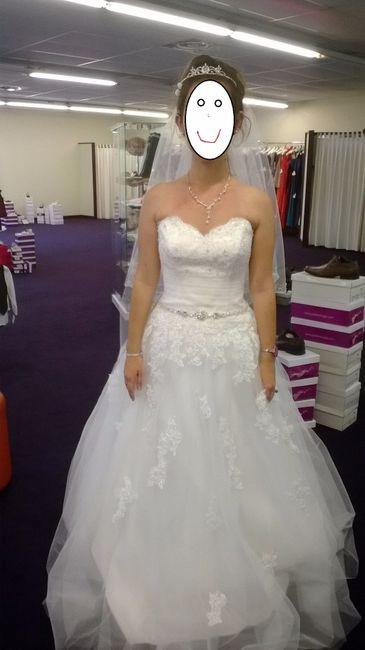jai essay une robe chez point mariage que jaime vraiment bien - Point Mariage Leers