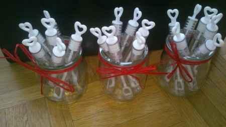 Des bulles pour mes invités!