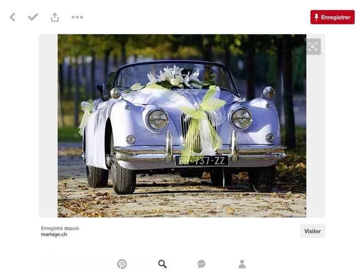 Décoration voiture blanche - 1