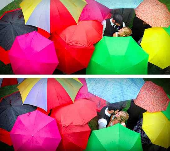 Pour faire de la pluie un atout charme. - 3