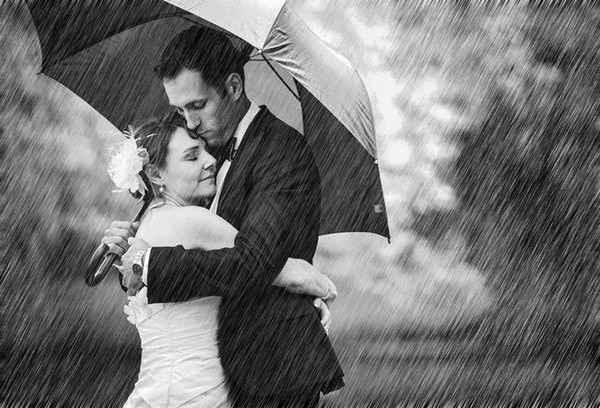 Pour faire de la pluie un atout charme. - 8