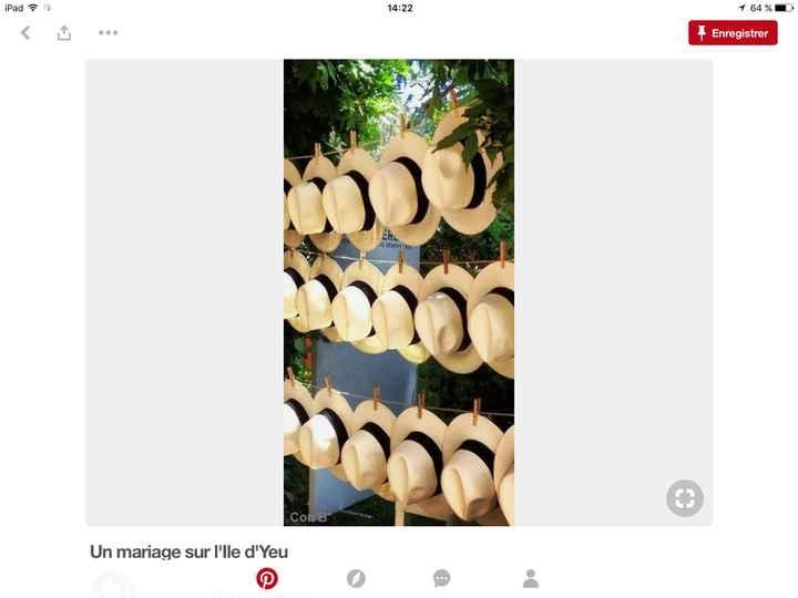 Des chapeaux