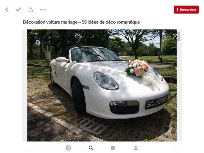 Décoration voiture blanche - 4