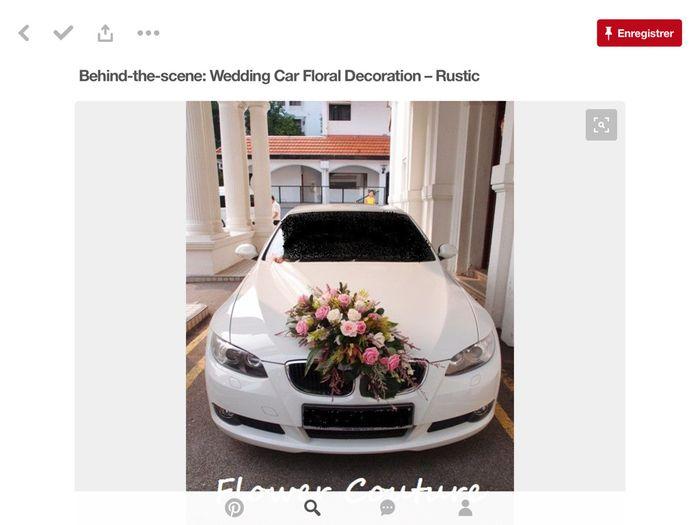 Décoration voiture blanche - 7
