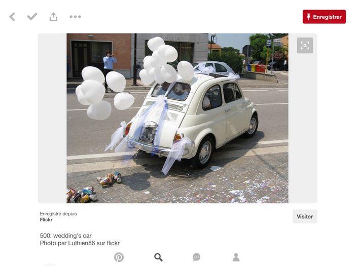 Décoration voiture blanche - 8