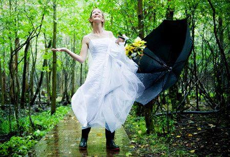 Pour faire de la pluie un atout charme. - 12