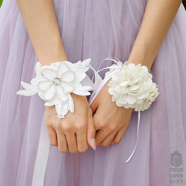 Bracelets de fleurs 1