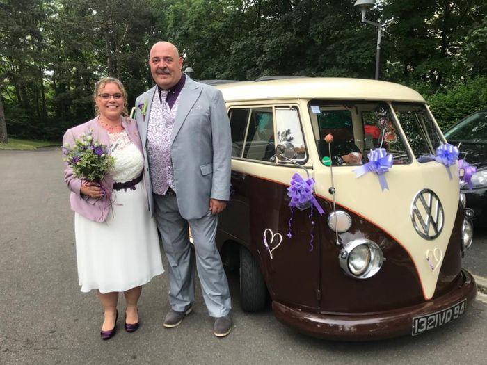 Enfin mariés depuis le 19 juin 1