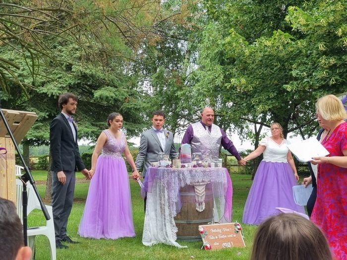 Enfin mariés depuis le 19 juin 3