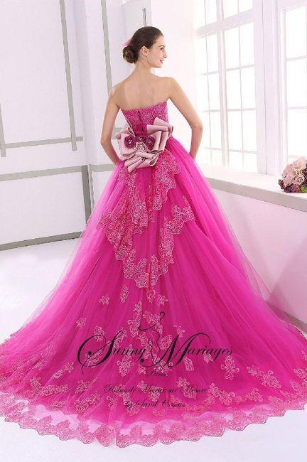 Robes de mariée rose ❇️ 3