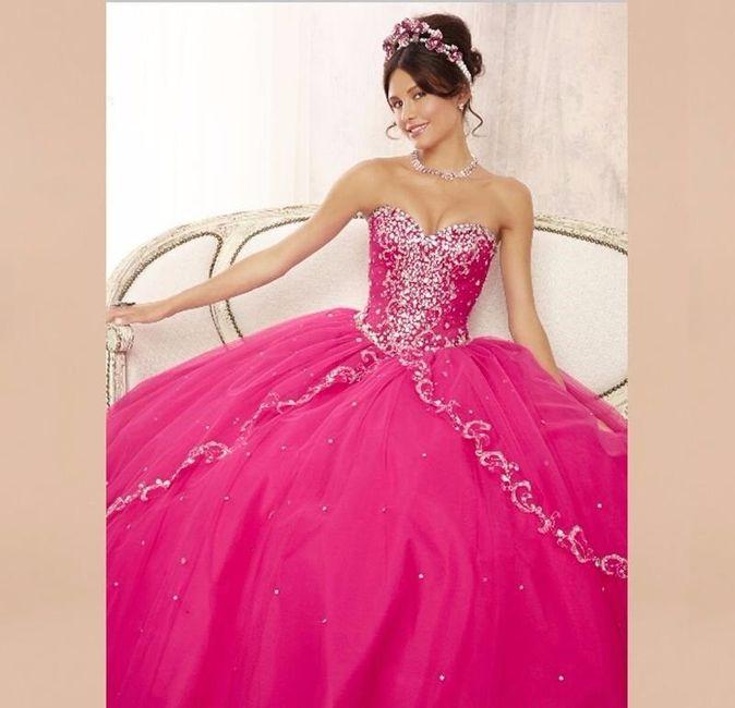 Robes de mariée rose ❇️ 4