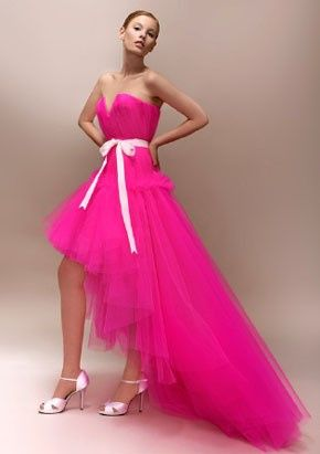 Robes de mariée rose ❇️ 6
