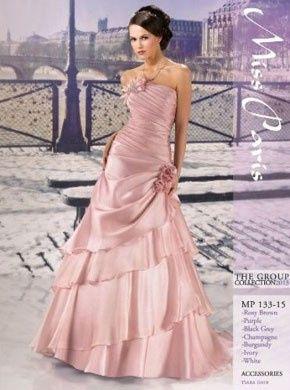 Robes de mariée rose ❇️ 8