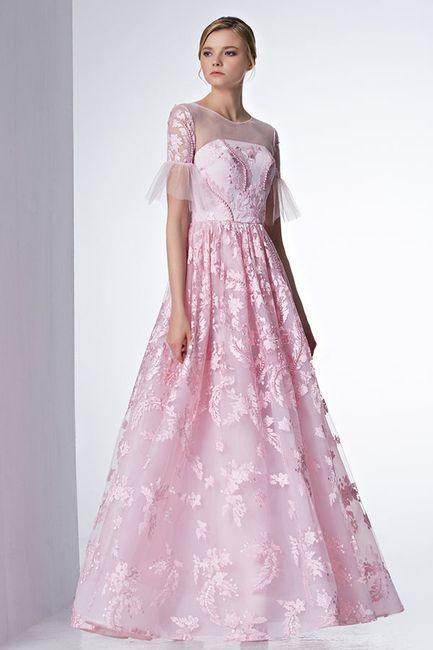 Robes de mariée rose ❇️ 12