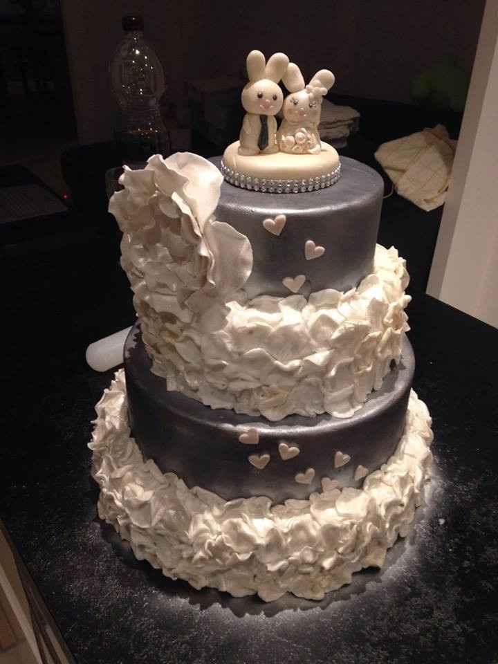 Notre wedding cake fait maison