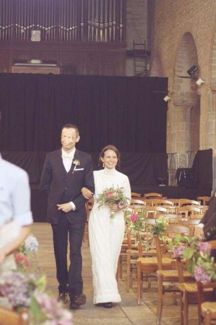 Robe de mariée Bohème (un peu atypique) - 1