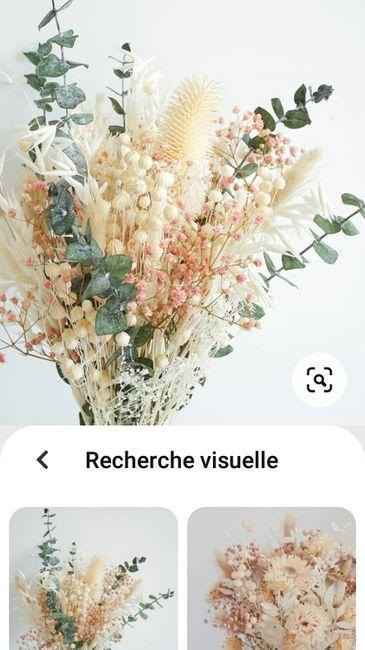 Fleurs séchées stabilisées - 1