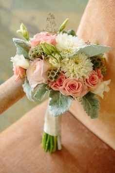 bouquet pêche/ menthe