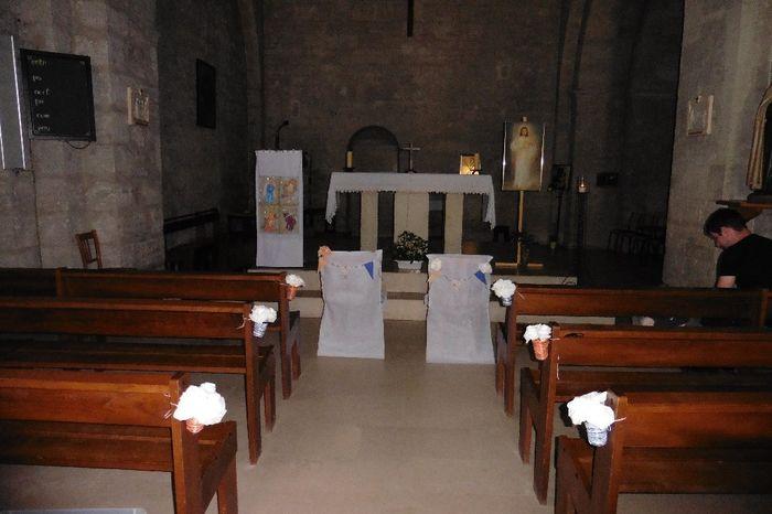 Déco de l'église
