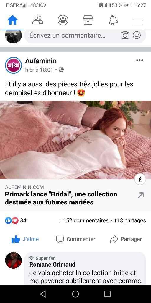 Mode mariage Primark - 1