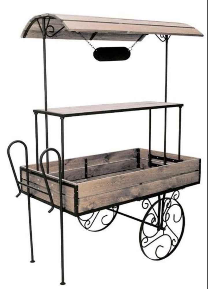 Recherche location charrette candy bar - 1