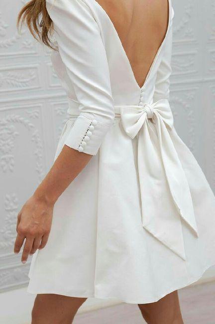 Robe lendemain de mariage - 1