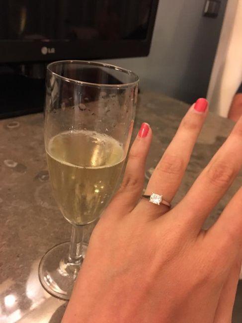 Avis sur bague de fiançailles 1