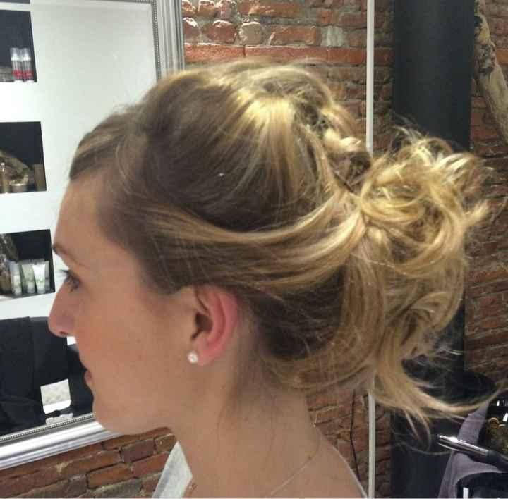Essai coiffure... qu'en pensez vous? - 1
