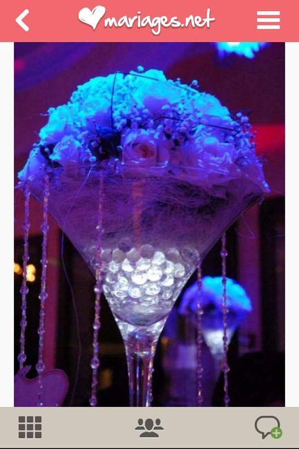 Besoin d 39 aide centre de table vase martini page 2 for Centre de table lumineux