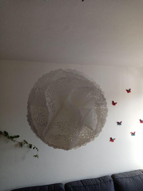 Déco fleur de napperons 1
