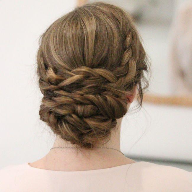 Longueur cheveux & chignon 4