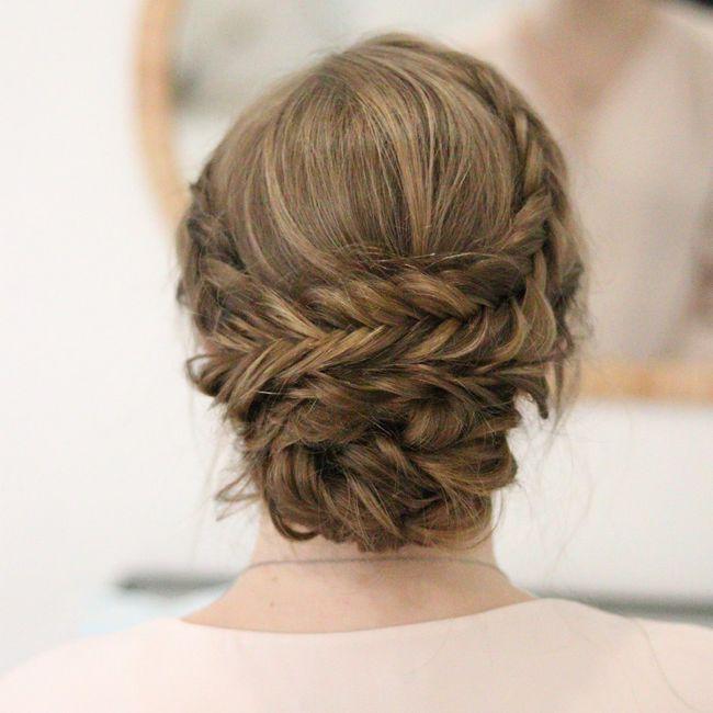 Longueur cheveux & chignon 5