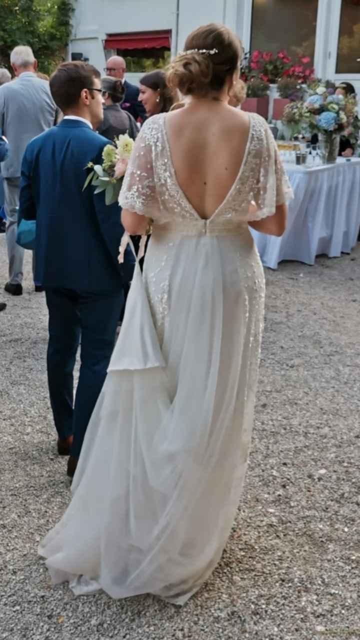 Les différentes décolletés dans le dos pour une mariée ! - 1