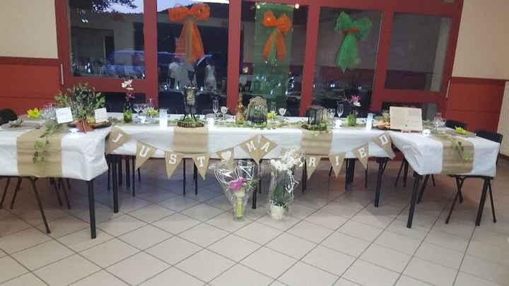 Table d'honneur - 1