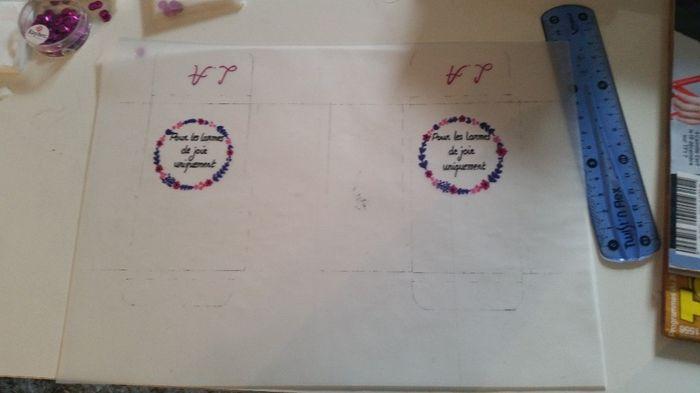Etape 4 : photocopie sur papier calque