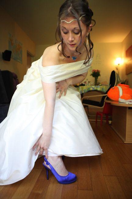 Quelles chaussures avec une robe ivoire? - 1