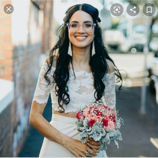 Mariée à lunettes? 1