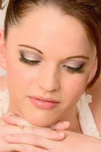 Et voici le maquillage que j'ai choisi pour le jour J