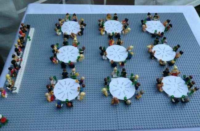 Plan de table Lego 1