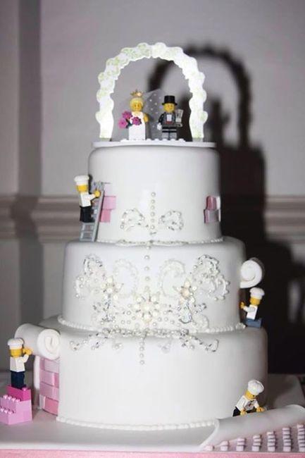 As-tu prévu de mettre un topper sur ton gâteau de mariage ? 🎂 5