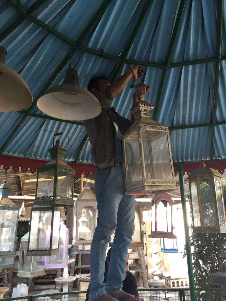 Ma décoration indienne : épisode 5, l'urne lanterne - 4