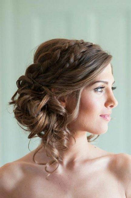 Coiffure mariee theme champetre