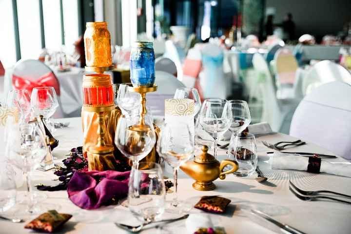 Table danse orientale