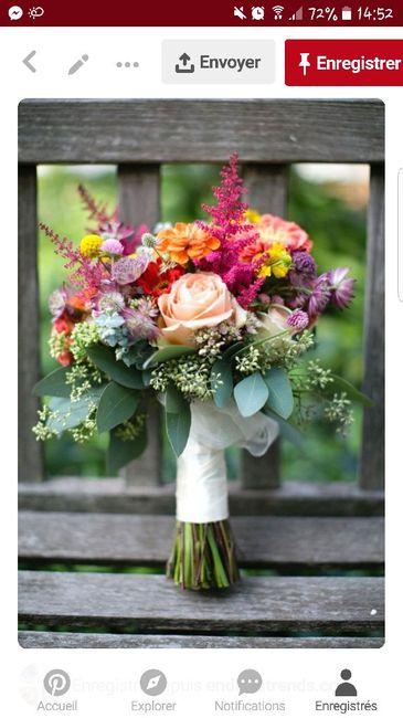 Photos bouquets de mariée et tarif 12