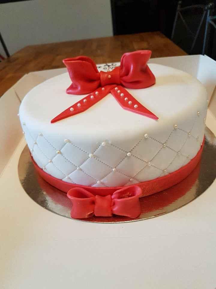 Weeding cake essai avant mariage - 1