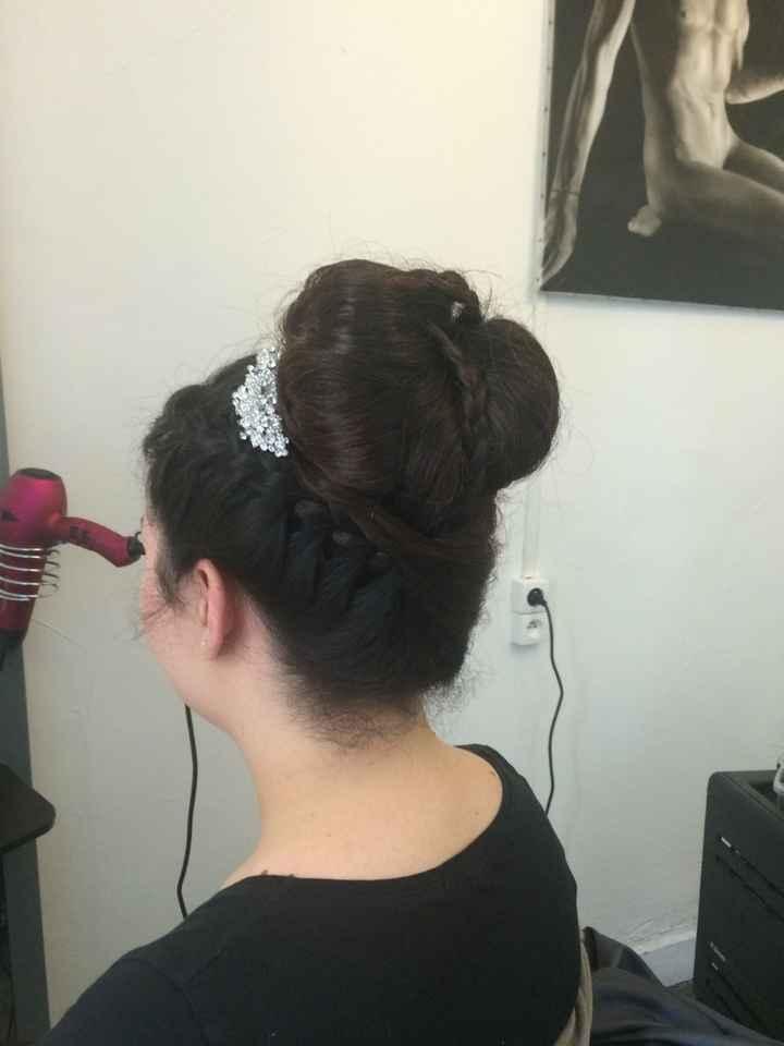 Mon 2 ème essai coiffure !