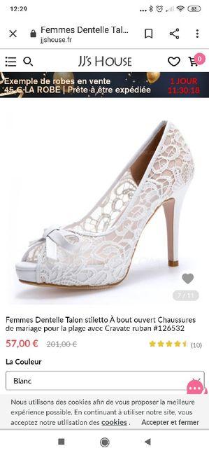 Inspi: chaussures de mariées - 1
