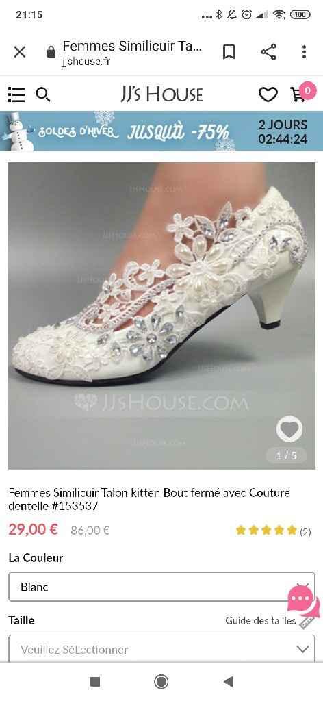 Inspi: chaussures de mariées - 2